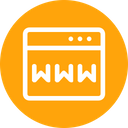 Www Website Domain Icon