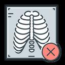 X Ray Rib Cage Medical Icon