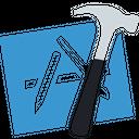 Xcode Technology Logo Social Media Logo Icon
