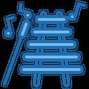Xylophone Music Instrument Icon