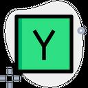 Y Combinator Technology Logo Social Media Logo Icon
