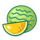 Yellow Watermelon Fruit Healthy Icon
