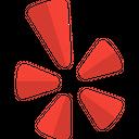 Yelp Social Logo Social Media Icon