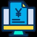 Yen Document Icon