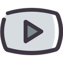 Youtube Play Video Icon