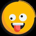 Emoticon Emoji Zany Icon
