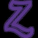 Zerply Technology Logo Social Media Logo Icon