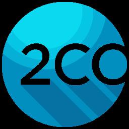 2Co Flat  Logo Icon
