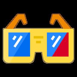 3 D Goggles Icon