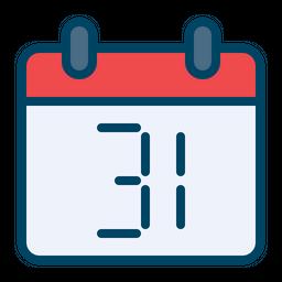 31st December Icon