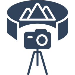 360 degree camera Icon