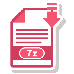 7z File Icon Of Flat Style Available In Svg Png Eps Ai Icon Fonts