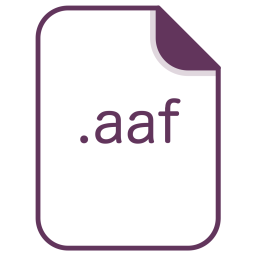Aaf, File, Document, Extension, Filetype Icon