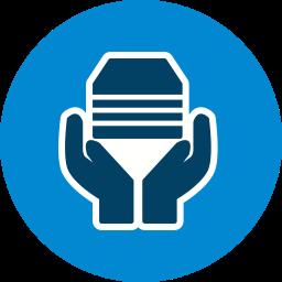 Acception Glyph Icon