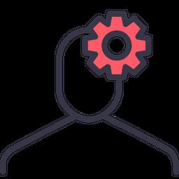 Account, Configuration, Gear, Option, Profile, Setting, User Icon