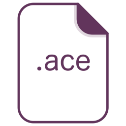 Ace, File, Document, Extension, Filetype Icon