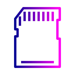 Adapter, Memory, Card, Holder, Storage, Space Icon
