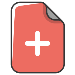 Add, Insert, Addition, New, Append, Plus, File, Document Icon