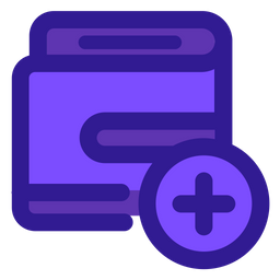 Add Payment Colored Outline Icon