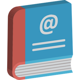 Address Book Icon Of Isometric Style Available In Svg Png Eps Ai Icon Fonts