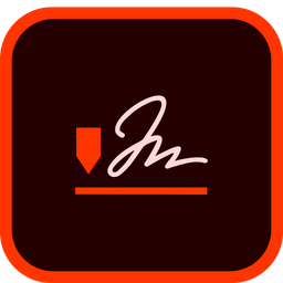 Adobe Sign Icon Of Flat Style Available In Svg Png Eps Ai Icon Fonts