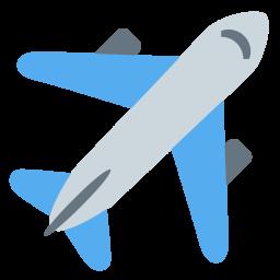 Plane Emoji Icon