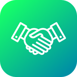 Affability, Commitment, Partnership, Handshake, Aggrement, Business, Deal Icon