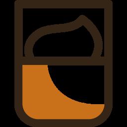 Affogato Colored Outline Icon