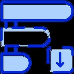 Agile Prioritize Colored Outline Icon
