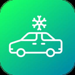 Air Conditioner Car Icon
