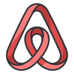 Airbnb Logo Icon Of Colored Outline Style Available In Svg Png
