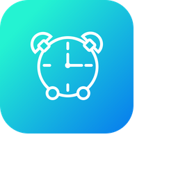 Alarm, Bell, Clock, Ring, Timer, Stop, Watch Icon