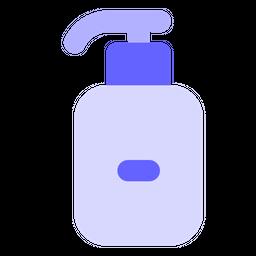 Alcohol based sanitizer Flat Icon