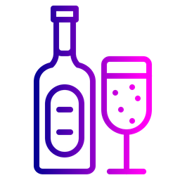 Alcohol, Party, Beverage, Celebration, Wine, Drink, Xmas Icon