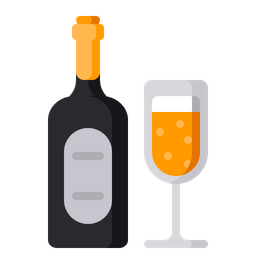 Alcohol, Party, Beverage, Celebration, Wine, Drink, Xmas Icon