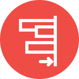 Align, Right, Edges, Tool, Object Icon