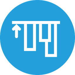 Align, Top, Edges, Alignment, Tool, Up Icon