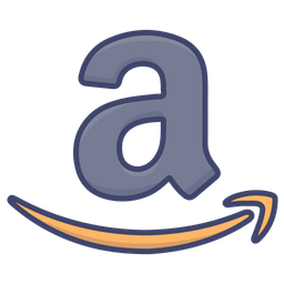 Amazon Logo Icon Of Colored Outline Style Available In Svg Png Eps Ai Icon Fonts