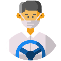 Ambulance Driver Icon Of Flat Style Available In Svg Png Eps Ai Icon Fonts