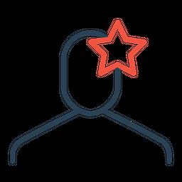 Analysis, Business, Businessman, Favorite, Star, User Icon