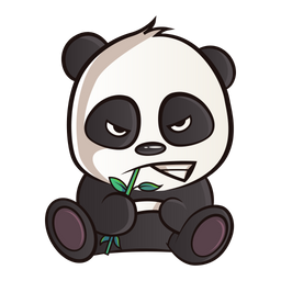 Angry Panda Icon Of Sticker Style Available In Svg Png Eps Ai Icon Fonts