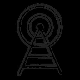 Antenna Logo Icon