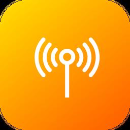 Antenna, Electronics, Signal, Technology, Wifi, Radiowaves Icon