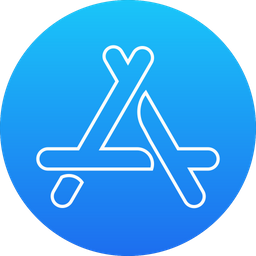 App Store Icon Of Rounded Style Available In Svg Png Eps Ai Icon Fonts