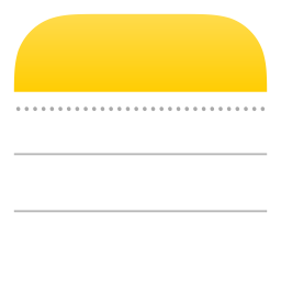 Apple Notes Icon Of Flat Style Available In Svg Png Eps Ai Icon Fonts