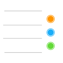 Apple Reminders Icon Of Flat Style Available In Svg Png Eps Ai Icon Fonts