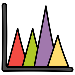 Area Graph Icon