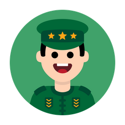 Army-military-soldier-general-commander-officer-war Icon