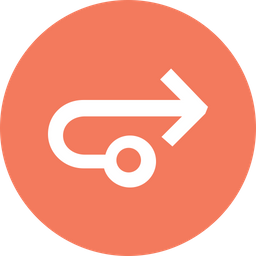 Arrow, Arrows, Connection, Connect, Turn, Right, Straight Icon png