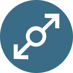 Arrow, Arrows, Connection, Joint, Twoway Icon